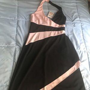 High-low halter dress, NWT
